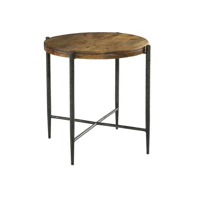 Hekman Metal and Wood End Table
