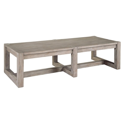 Hekman Rectangular Wood Top Coffee Table