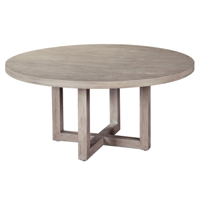 Hekman 1 7103 Berkeley Heights Round Coffee Table Discount Furniture At Hickory Park Furniture