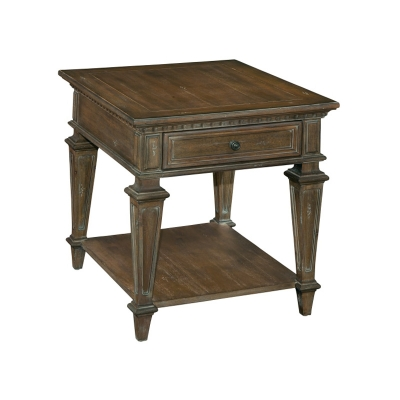 Hekman Rectangular Drawer End Table