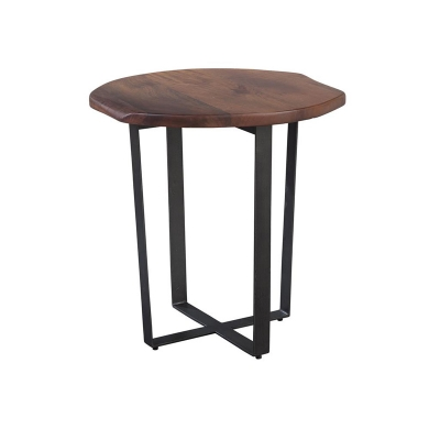 Hekman Round Live Edge Chairside Table
