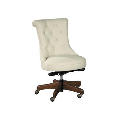 Hekman Scroll Back Armless Desk Chair