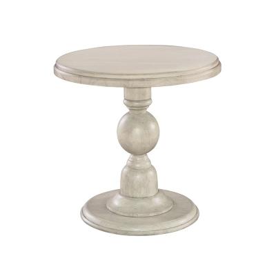 Hekman Pedestal End Table
