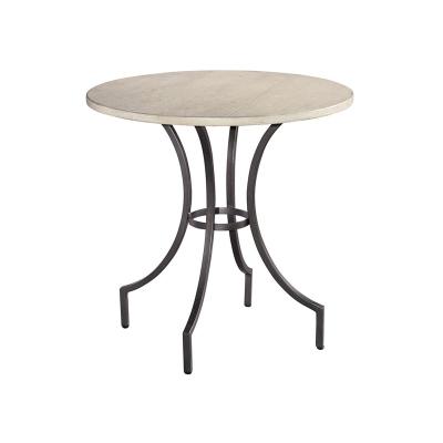Hekman Primitive Round Iron Lamp Table