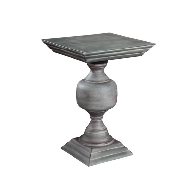 Hekman Square Iron Side Table