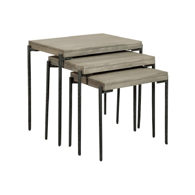 Hekman Gray Nest of Tables