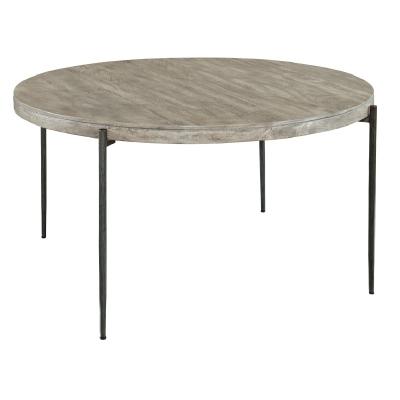 Hekman Gray Round Dining Table