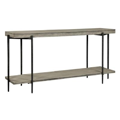 Hekman Gray Sofa Table