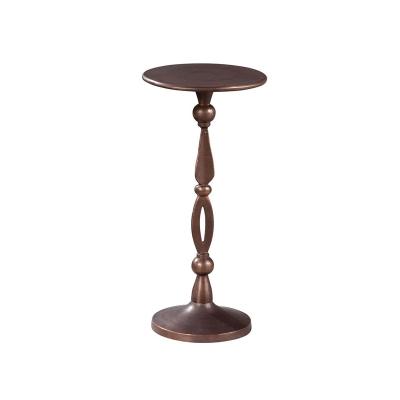 Hekman Antique Bronze Chairside Table