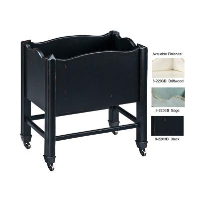 Hekman Black Book Cart