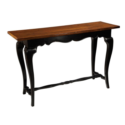 Hekman French Slab Top Console Table