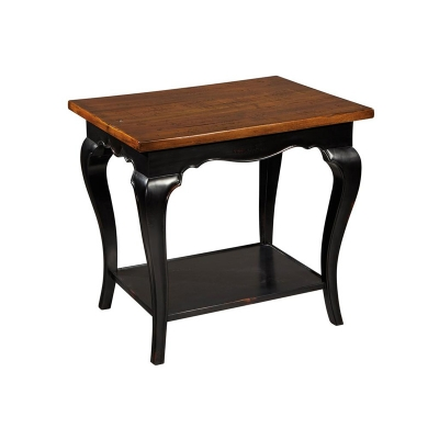 Hekman French Slab Top Lamp Table