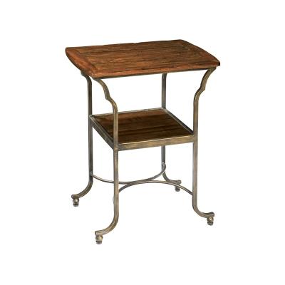 Hekman Metal Base Side Table