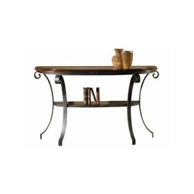 Hekman Metal Sofa Table