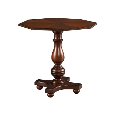 Hekman Octagon Lamp Table