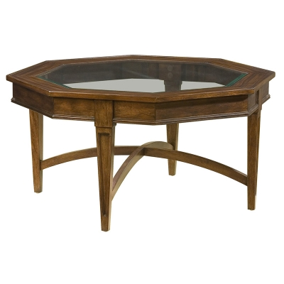 Hekman Octagonal Coffee Table