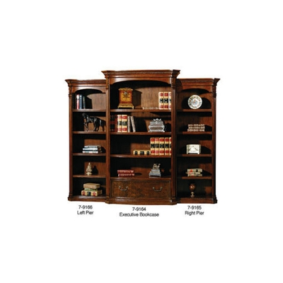 Hekman Old World Executive Bookcase