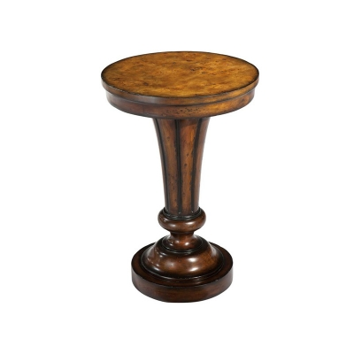 Hekman Pedestal Accent Table