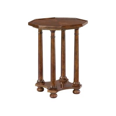 Hekman Pillar End Table