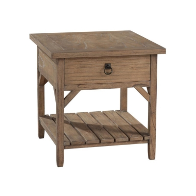 Hekman Primitive One Drawer Lamp Table