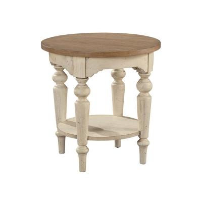 Hekman Round Lamp Table