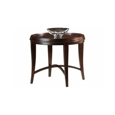 Hekman Round Lamp Table