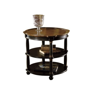 Hekman Round Library Table