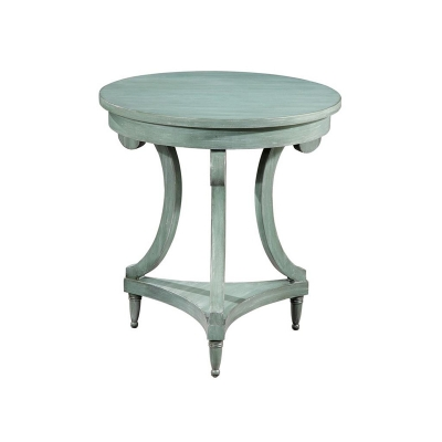 Hekman Round Painted Table