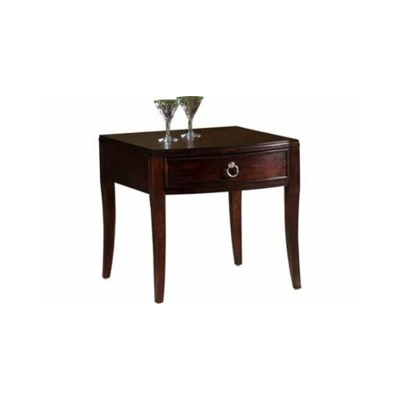 Hekman Storage Lamp Table