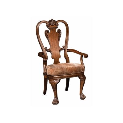 Hekman 1 1327 New Orleans Upholstered Arm Chair Discount Furniture At Hickory Park Furniture