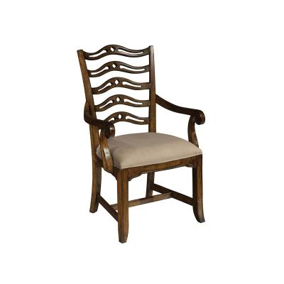 Hekman Ladder Back Arm Chair