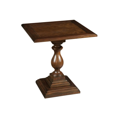 Hekman Square Pedestal End Table