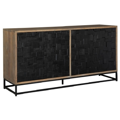 Hekman Scrap Parquet Entertainment Center