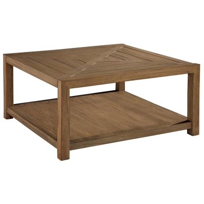 Hekman Square Coffee Table with Casters