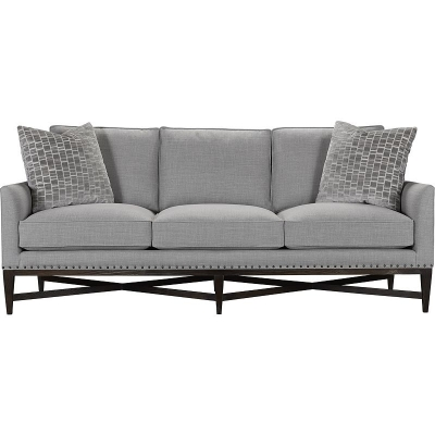 Hickory Chair Wilmington Three Cushion Sofa