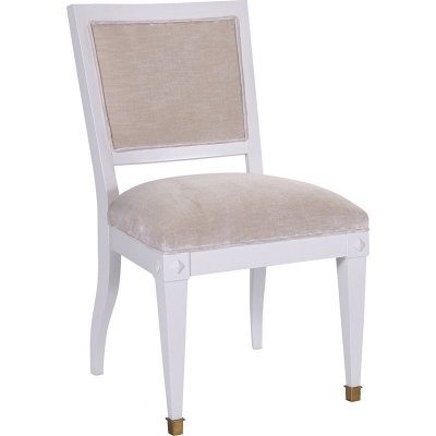 Hickory Chair Trouvais Dining Chair with Upholstered Back