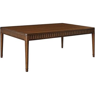 Hickory Chair Slaton Wood Top Coffee Table