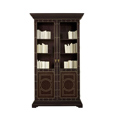 Hickory Chair Lafayette Display Cabinet Bookcase