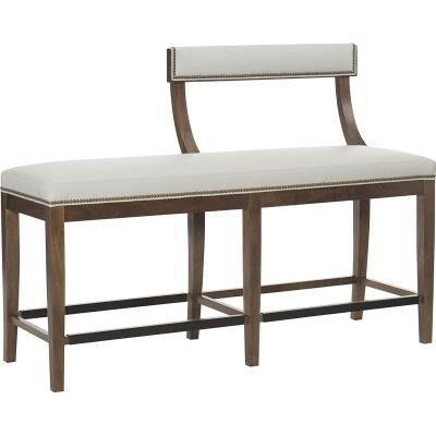 Hickory Chair Split Klismos Bench