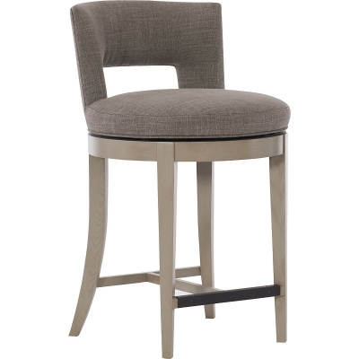 Hickory Chair Axis Swivel Counter Stool