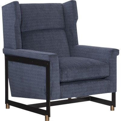 Hickory Chair Cradle Wing Chair