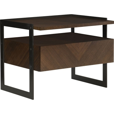 Hickory Chair Barstock Side Table