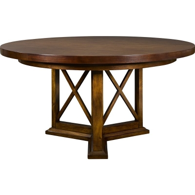 Hickory Chair Worth Round Dining Table Top
