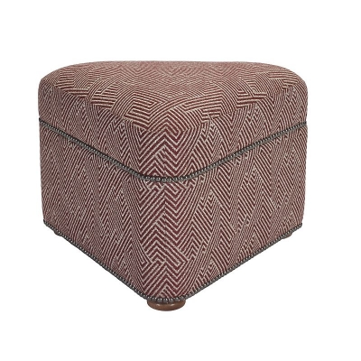Hickory Chair Travelers Ottoman