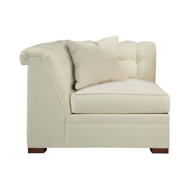 Hickory Chair Kent Tufted Corner Chair