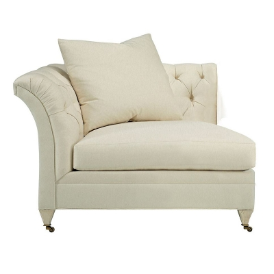 Hickory Chair Marquette Tufted Corner Chair
