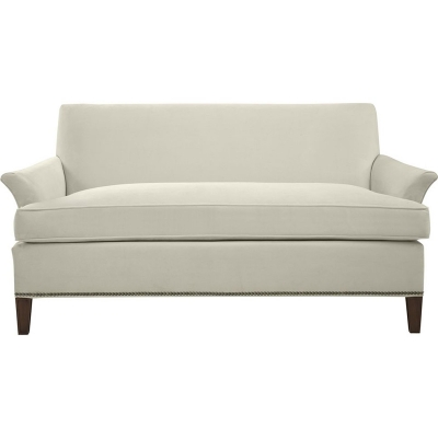 Hickory Chair Flared Arm Loveseat