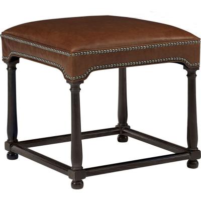Hickory Chair Marit Ottoman