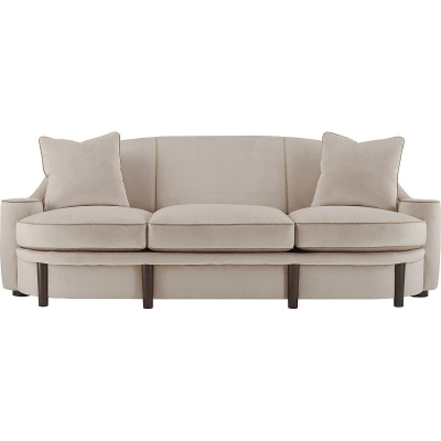 Hickory Chair Athena Sofa Exposed Wood