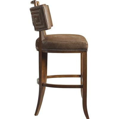 Hickory Chair Saint Giorgio Bar Stool With Handle
